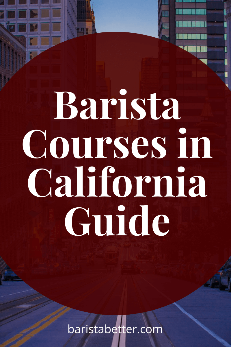 Barista Courses in California Guide
